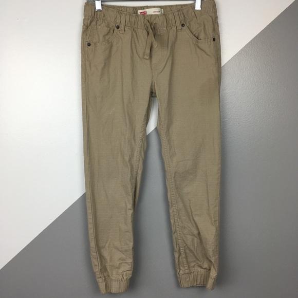927d67d30 Levi's Bottoms | Levis Boys 14 Ripstop Cotton Jogger Pants | Poshmark